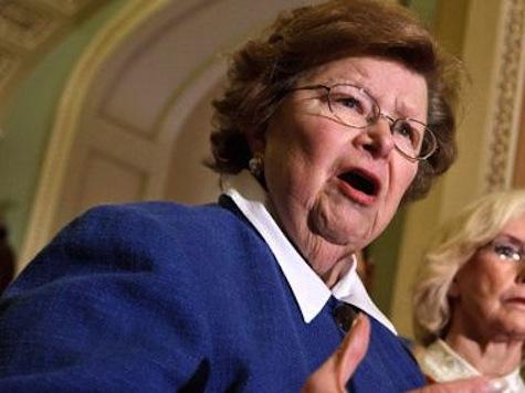 Senator Mikulski Calls Opposition 'Tea Baggers' on Live TV