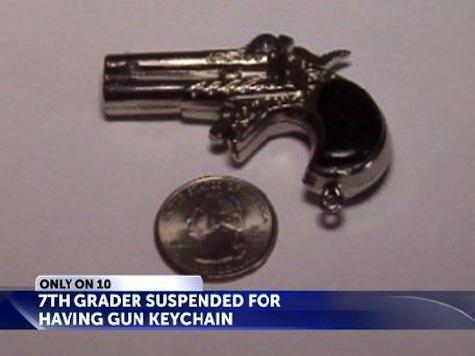Seventh-Grader Suspended for Having Gun Keychain