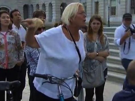 Screaming Woman Interrupts GOP Presser