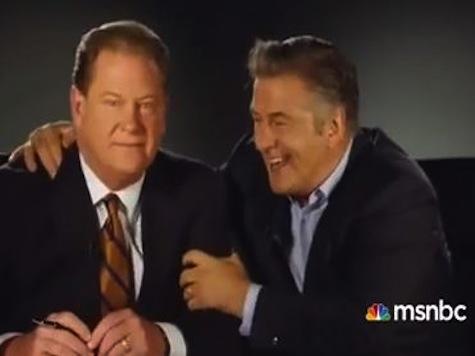 Ed Schultz Mocks Alec Baldwin In MSNBC Promo