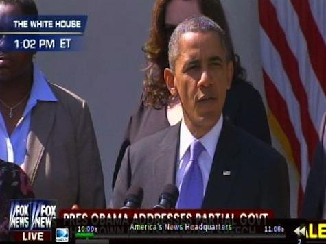 Obama Demands Republicans Stop Their 'Ideological Crusade'