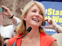Wendy Davis Announces Run For Texas Governor