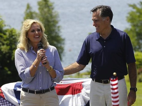 Ann Romney Releases Cookbook