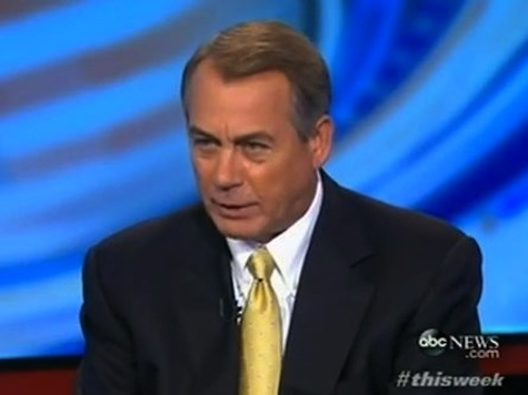 Boehner: 'There Is No Way' We're Passing Plain Debt-Ceiling Increase