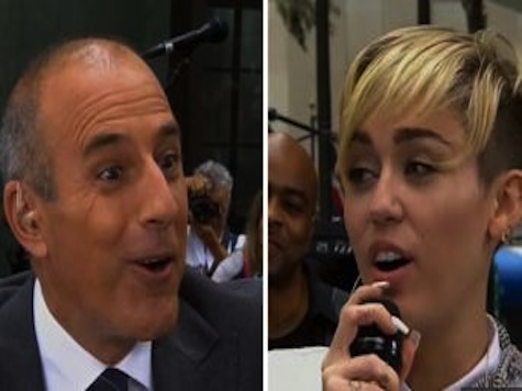 Miley Cyrus Tells Matt Lauer 'You're Definitely Not Sexual'