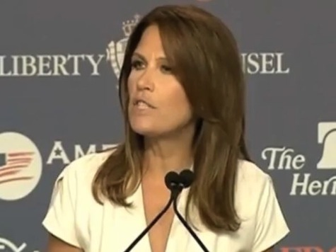 Bachmann: ObamaCare 'Line In The Sand Between Police State And Constitutional Republic'
