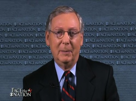 McConnell: Shutting Down Government Not Conservative