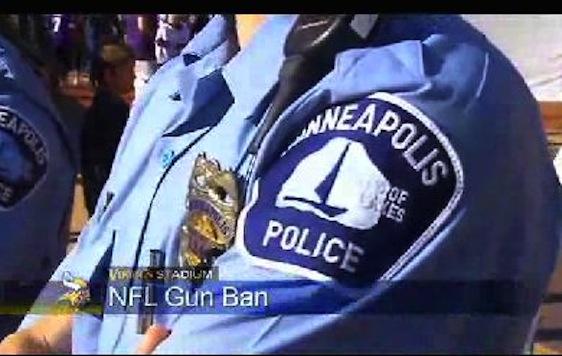 Minneapolis Police: NFL Gun Ban Violation Of State Law