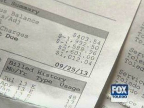 Family Charged for Three Years of Extra Water