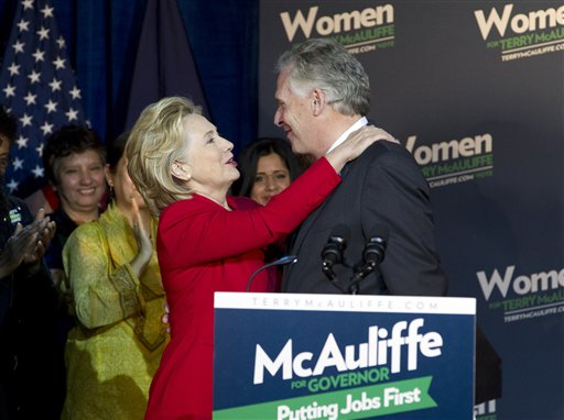Hillary Fundraises for Terry McAuliffe–in Beverly Hills