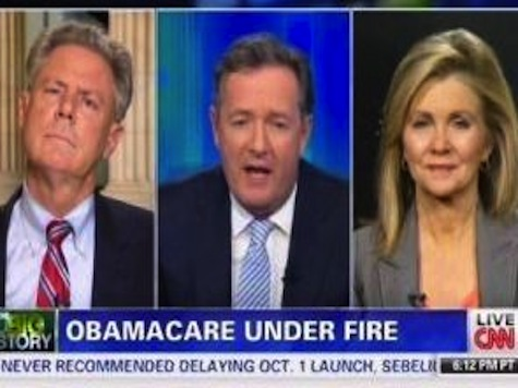 Piers Morgan Hammers ObamaCare Lie