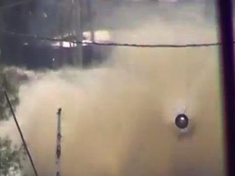 Terrifying: Video of Syrian Tank Firing at Camera
