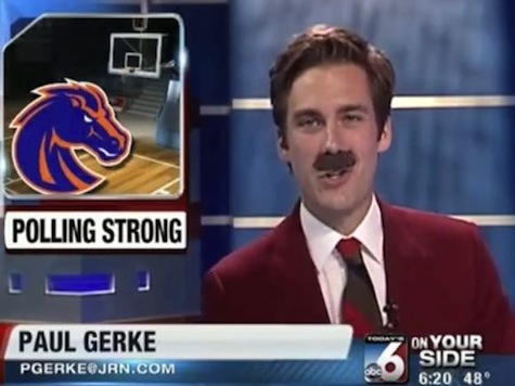 Idaho Sportscaster Does Dead On Ron Burgandy for Entire Halloween Broadcast