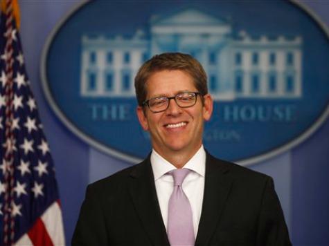 Jay Carney Mocks Reporter for Challenging Obama