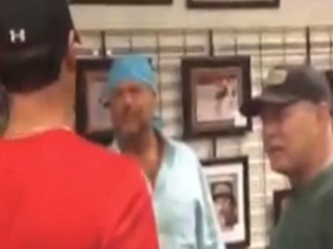 Former Phillies Players Almost Get into Fight at Autograph Signing