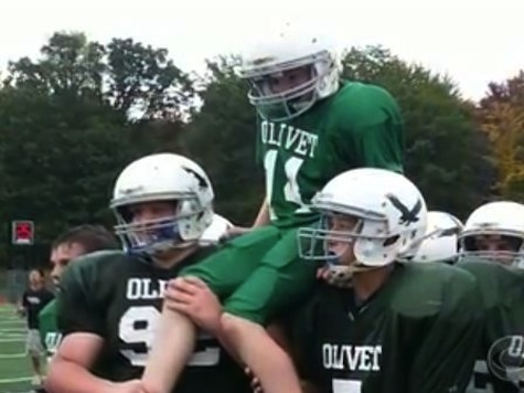 Middle School Football Players Commit Incredible Act Kindness