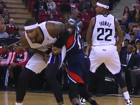 NBA Player Suspended for Low Blow