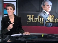 Rachel Maddow Rips the Lid Off Secret George W. Bush Plot to Bring About the Apocalypse