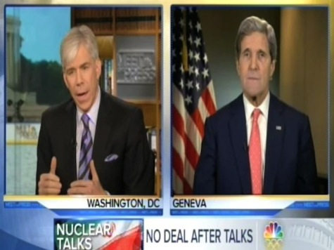 David Gregory Grills Kerry On Iran Nukes