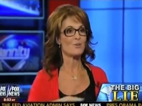 Palin On ObamaCare: 'Lie, Lie, Lie!'