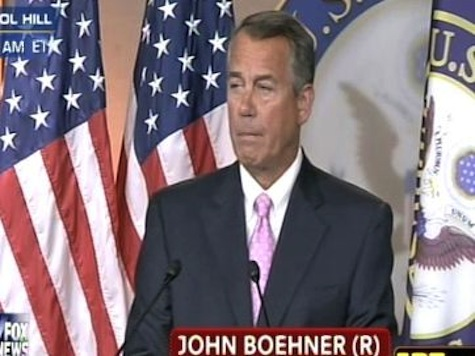 Boehner: ObamaCare Cannot Be Fixed
