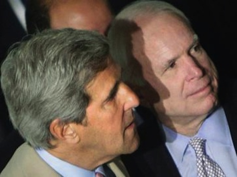 McCain 'Very Disappointed' in Secretary of State John Kerry