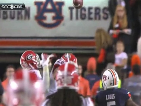 Watch Auburn Beat Georgia With Insane Hail Mary