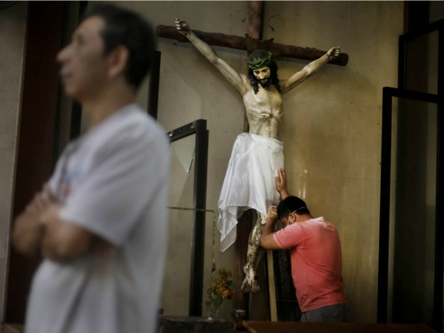 Grieving Typhoon Survivors Take Solace in Sunday Prayers
