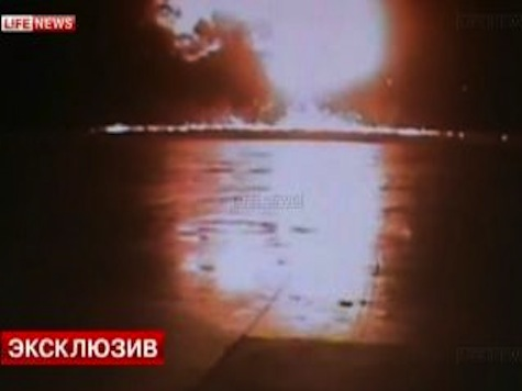 Watch: Russian Plane Nosedives into Runway, Explodes on Impact