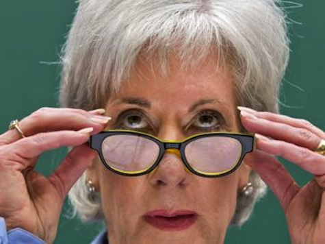 VIDEO: Website Crashes While Sebelius Promotes ObamaCare