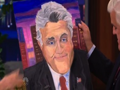 George W. Bush Laughs With Jay Leno On 'Tonight Show'