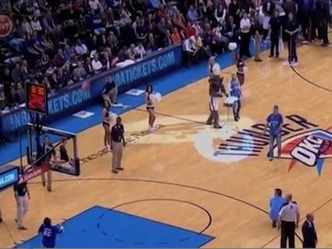 Another Thunder Fan Hits Half-Court Shot for $20,000
