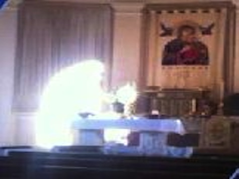 Glowing 'Figure' Shows Up In Church Photo
