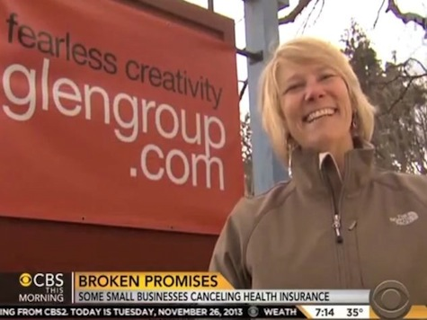 Business Woman Featured In ObamaCare Ad Forced To Drop Health Insurance