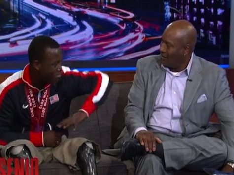 Bo Jackson Surprises Paralympic Sprinter Who Idolized Him