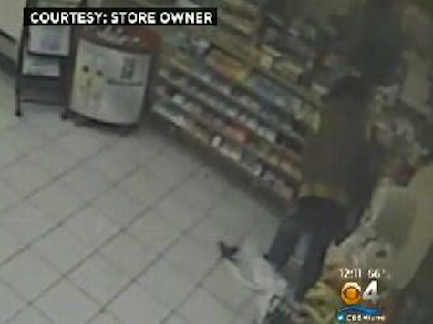 Gunman Repeatedly Drops Gun, Candy And Beer Until Cop Strolls Up