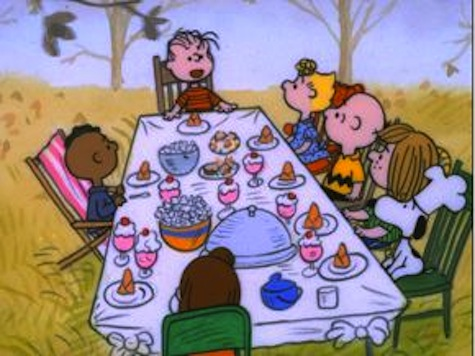 VIDEO: Linus Gives Thanksgiving Grace