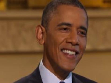 Obama Laughs Off Bad Polls