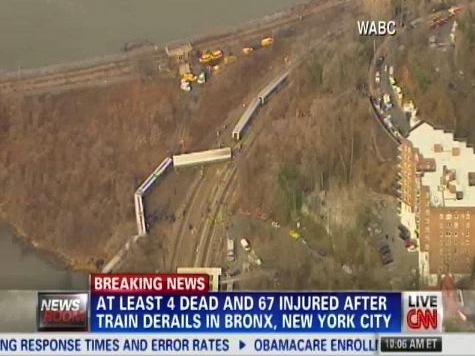 Train Derails Killing Four In Bronx