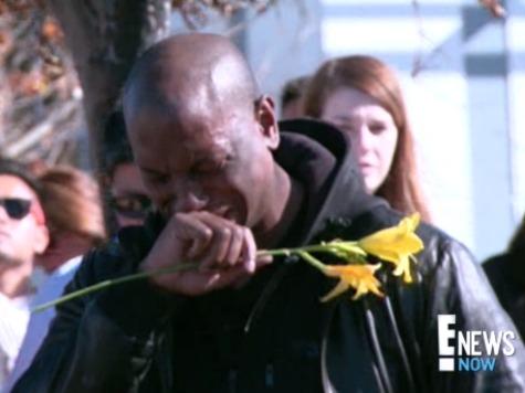 Tyrese Gibson Breaks Down Crying at Paul Walker Crash Site