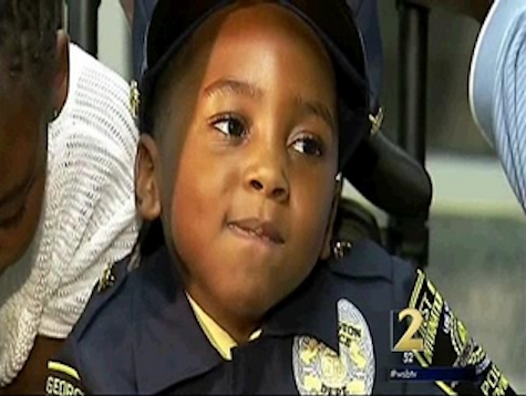 5-Year-Old Made Honorary Police Officer