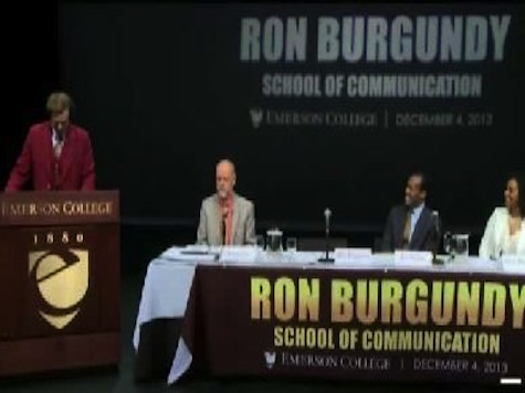 Emerson College Names Communications School After 'Anchorman' Ron Burgundy