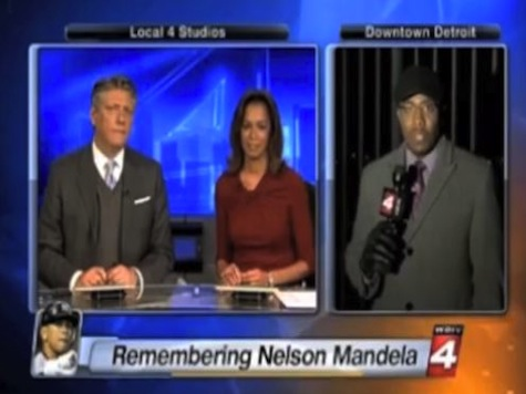 TV Station Puts Up Picture of A-Rod During Mandela Tribute