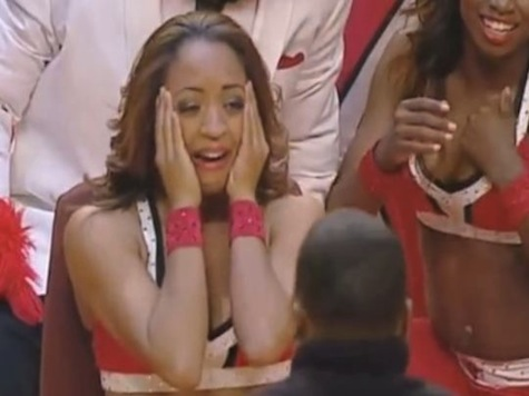 Chicago Bulls Cheerleader in Awesome Marriage Proposal Surprise