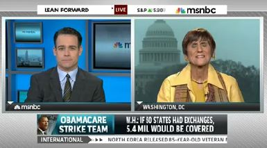 What Are 'WE' Doing on Messaging: MSNBC Host Not Happy With Dems Low Level Of Positive Obamacare Spin