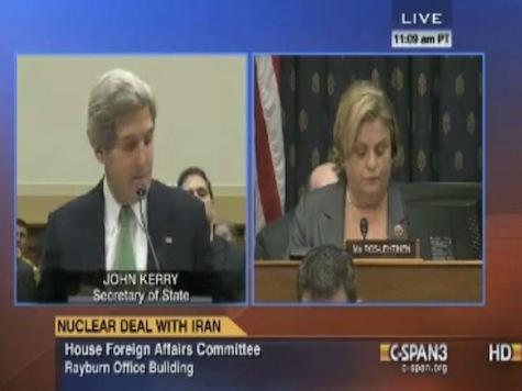 GOP Rep Ileana Ros-Lehtinen Grills John Kerry On Castro Handshake