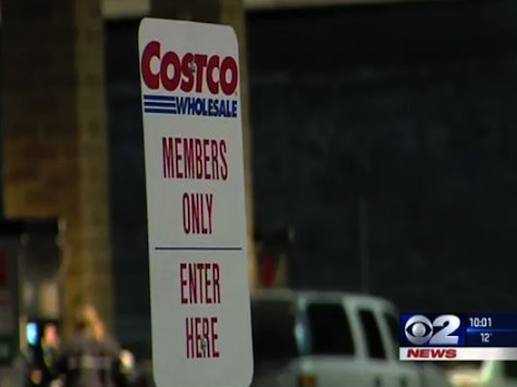 Naked Criminal Suspect Bites Police Dog in Costco Parking Lot