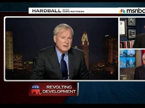 Matthews Revisits 'Thrill' Up His Leg: At Least It Came From Obama, Not Palin