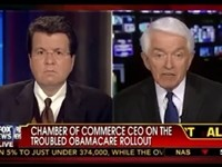 US Chamber CEO Tom Donahue Says Organization Will Be Involved in GOP Primaries