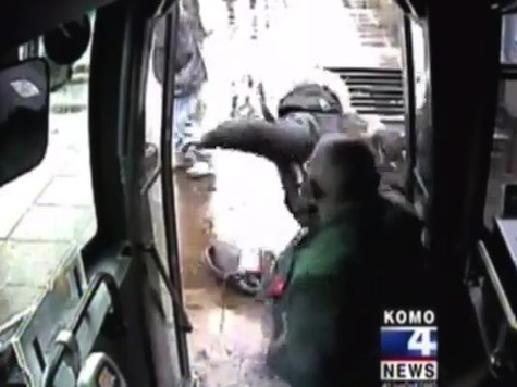 Bus Driver Beats Passenger That Spit In His Face